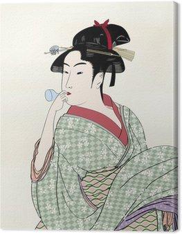 Obraz na Płótnie Edo Drzeworyty ukiyo Hui piękne obrazy 02B