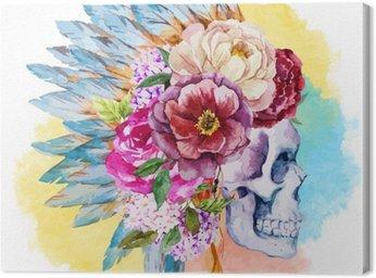 Obraz na Płótnie Ethnic czaszki