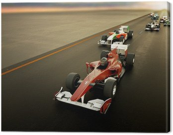 Obraz na Płótnie F1 Cars