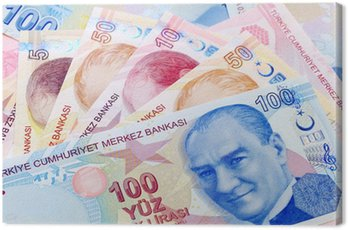 Obraz na Płótnie , Faktura Mustafa Kemal Ataturk w