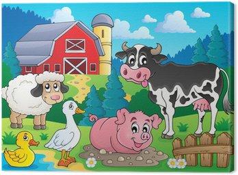 Obraz na Płótnie Farm obraz zwierzęta temat 3
