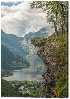 Obraz na Płótnie Fiord Geiranger, Norwegia