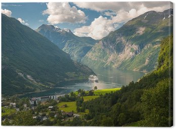 Fiord Geiranger, Norwegia