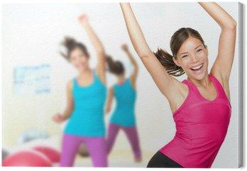 Obraz na Płótnie Fitness taniec zumba class