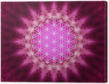 Obraz na Płótnie Flower of Life - energetyzujący, Sacred Geometry