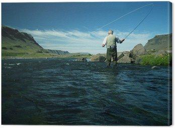 Obraz na Płótnie Flyfishing