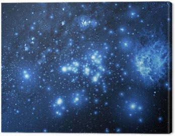 Obraz na Płótnie Galaktyka (Kolaż z obrazami z www.nasa.gov)