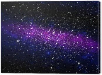 Obraz na Płótnie Galaxy 003