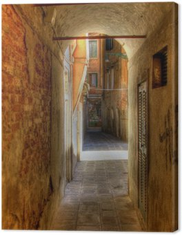 Obraz na Płótnie Gasse w Venedig