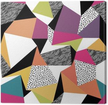 Obraz na Płótnie Geometryczne szwu w stylu retro. Archiwalne tła. do