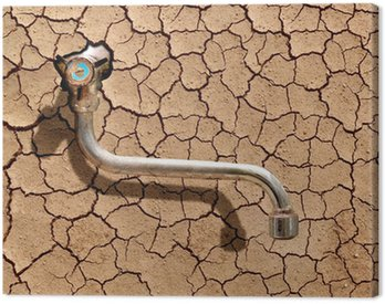 Obraz na Płótnie Globalne ocieplenie