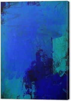 Obraz na Płótnie Głównym niebieski mieszana