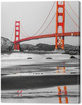 Obraz na Płótnie Golden Gate, San Francisco, Kalifornia, USA.