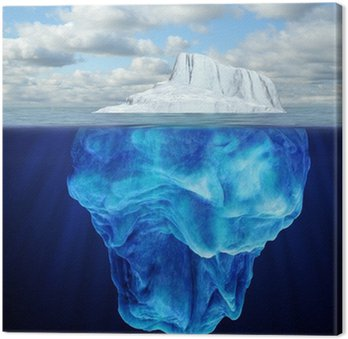 Obraz na Płótnie Góra lodowa