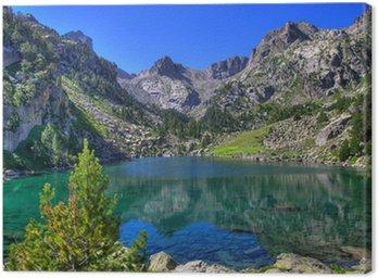 Obraz na Płótnie Górskie jezioro