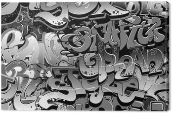 Graffiti bezszwowe tło. miejskich sztuki tekstury