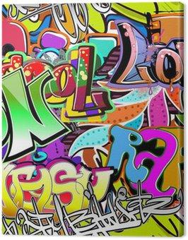 Graffiti ściany. tła miejskiego sztuki wektor. powtarzalne wzór