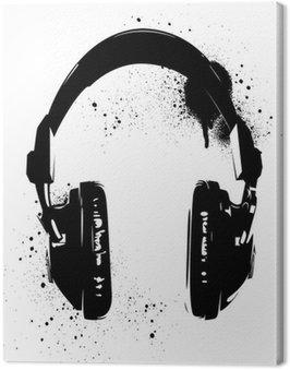 Graffiti słuchawki