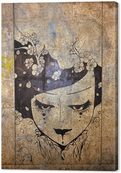 Obraz na Płótnie Graffiti - sztuka ulicy