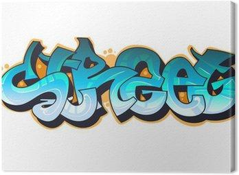 Obraz na Płótnie Graffiti Urban Art