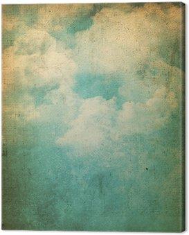Obraz na Płótnie Grunge chmury w tle