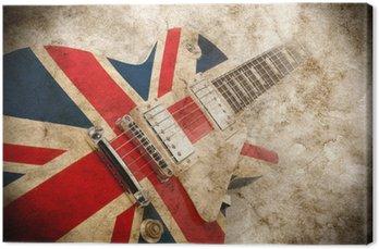 Obraz na Płótnie Grunge guitar pop brytyjski