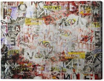 Obraz na Płótnie Grunge teksturowanej tle