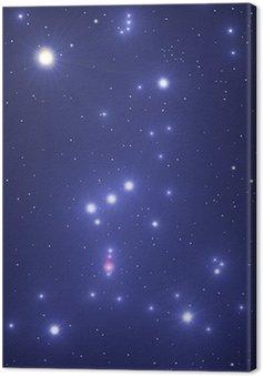 Obraz na Płótnie Gwiazdozbiór Oriona