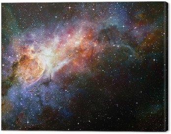 Obraz na Płótnie Gwiaździsty głęboki kosmos nebual i galaxy