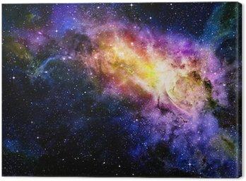 Gwiaździsty głęboki kosmos nebual i galaxy