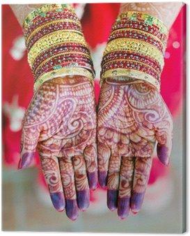 Obraz na Płótnie Henna ślubu