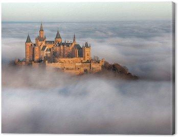 Obraz na Płótnie Hohenzollern zamek w niebie