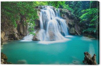 Obraz na Płótnie Huay Mae kamień wodospad w prowincji Kanchanaburi, Tajlandia