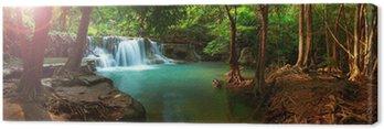 Obraz na Płótnie Huay Mae kamień wodospad