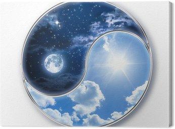 Icon tao - Księżyc i Słońce