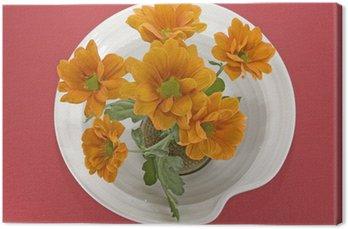 Obraz na Płótnie Ikebana z chryzantemy