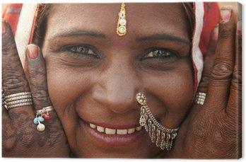 Obraz na Płótnie Indian kobieta
