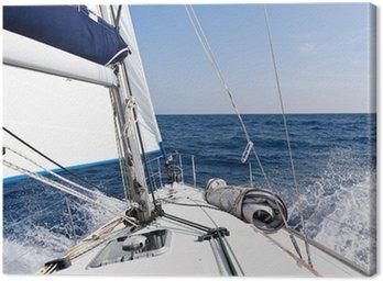 Jacht żaglowy Prędkość w morzu