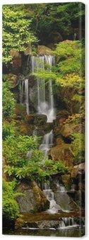 Obraz na Płótnie Japanese Gardens Wodospad w Portland w stanie Oregon