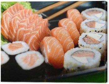 Obraz na Płótnie Japoński żywności - Sushi