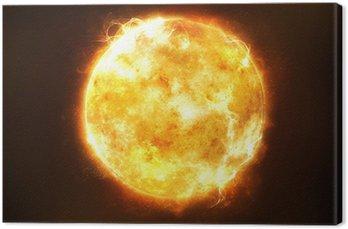 Obraz na Płótnie Jasne słońce