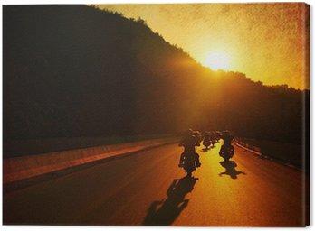 Obraz na Płótnie Jazda motocyklem