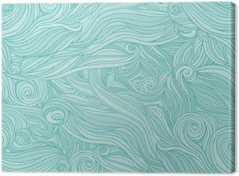 Obraz na Płótnie Jednolite abstrakcyjny wzór, splot tło faliste włosy