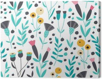 Jednolite kwiatowy wzór skandynawskich jasne