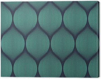 Obraz na Płótnie Jednolite niebieski neon złudzenie optyczne tkany wzór wektor