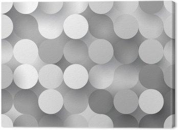 Obraz na Płótnie Jednolite płaskie kręgi