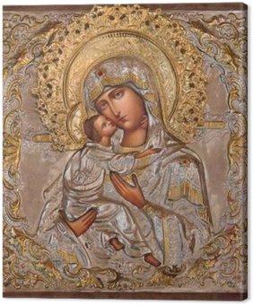 Obraz na Płótnie Jerozolima - Madonna w rosyjskim Cerkiew Marii Magdaleny
