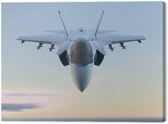Obraz na Płótnie Jet Myśliwiec F-35 samolotów wojskowych