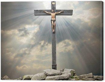 Obraz na Płótnie Jezus Chrystus na krzyżu