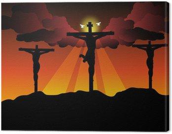 Obraz na Płótnie Jezus Chrystus ukrzyżowany